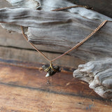 Extinct Tiger shark tooth necklace by RadCakes fossil jewelry design