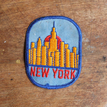 Vintage New York City patch for sale NYC Punk vtg retro design for sale