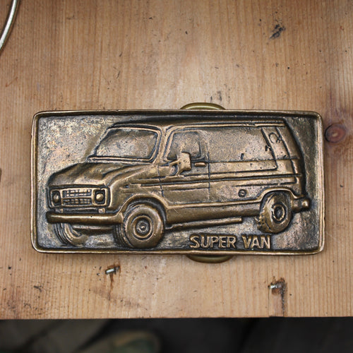 Vintage Super Van belt buckle Econoline for sale accessory