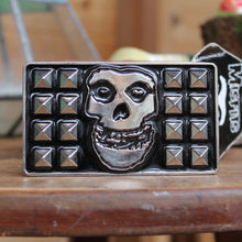 Misfits belt buckle 2008 Cyclopian Music Inc with original tags for sale