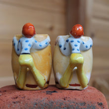 Vintage Moonshiner salt & pepper shakers