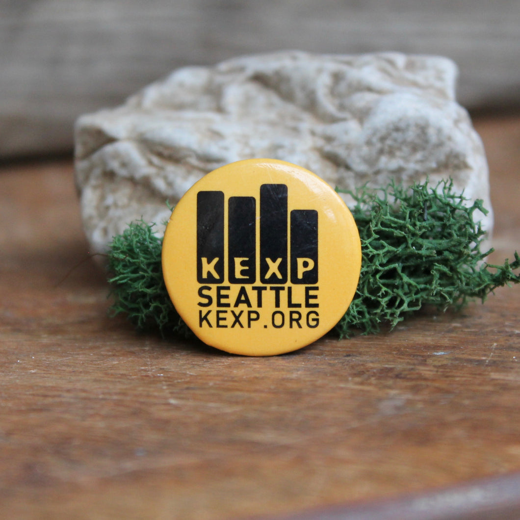 KEXP Seattle radio station pinback button