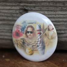 The Big Lebowski pinback button
