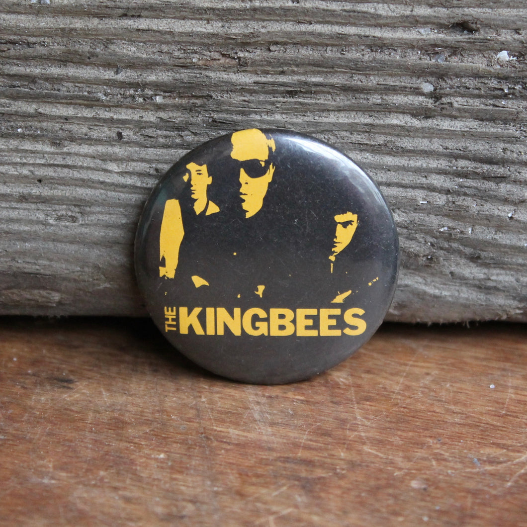 The Kingbees pinback button