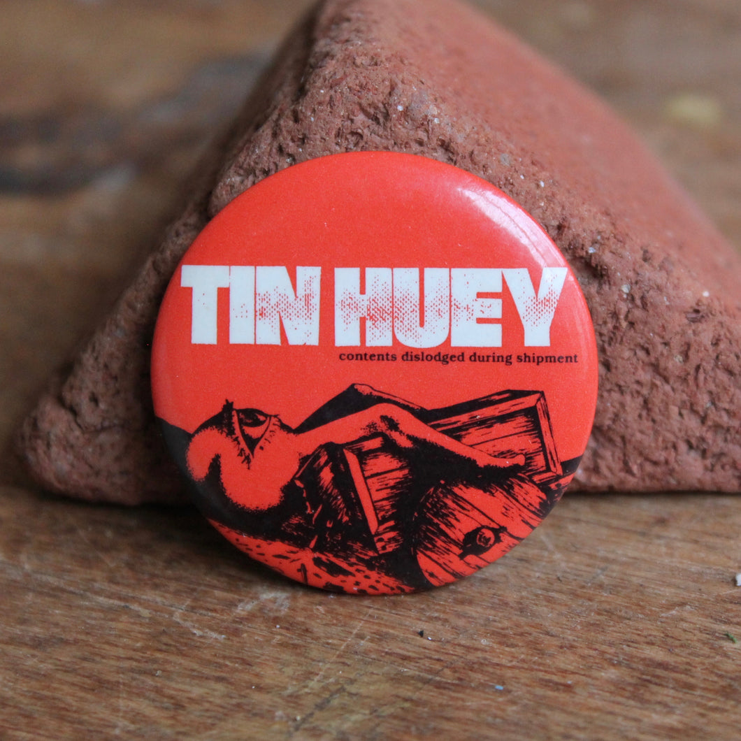 Retro Tin Huey pinback button