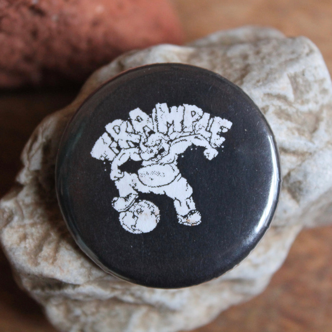 Trample Records pinback button