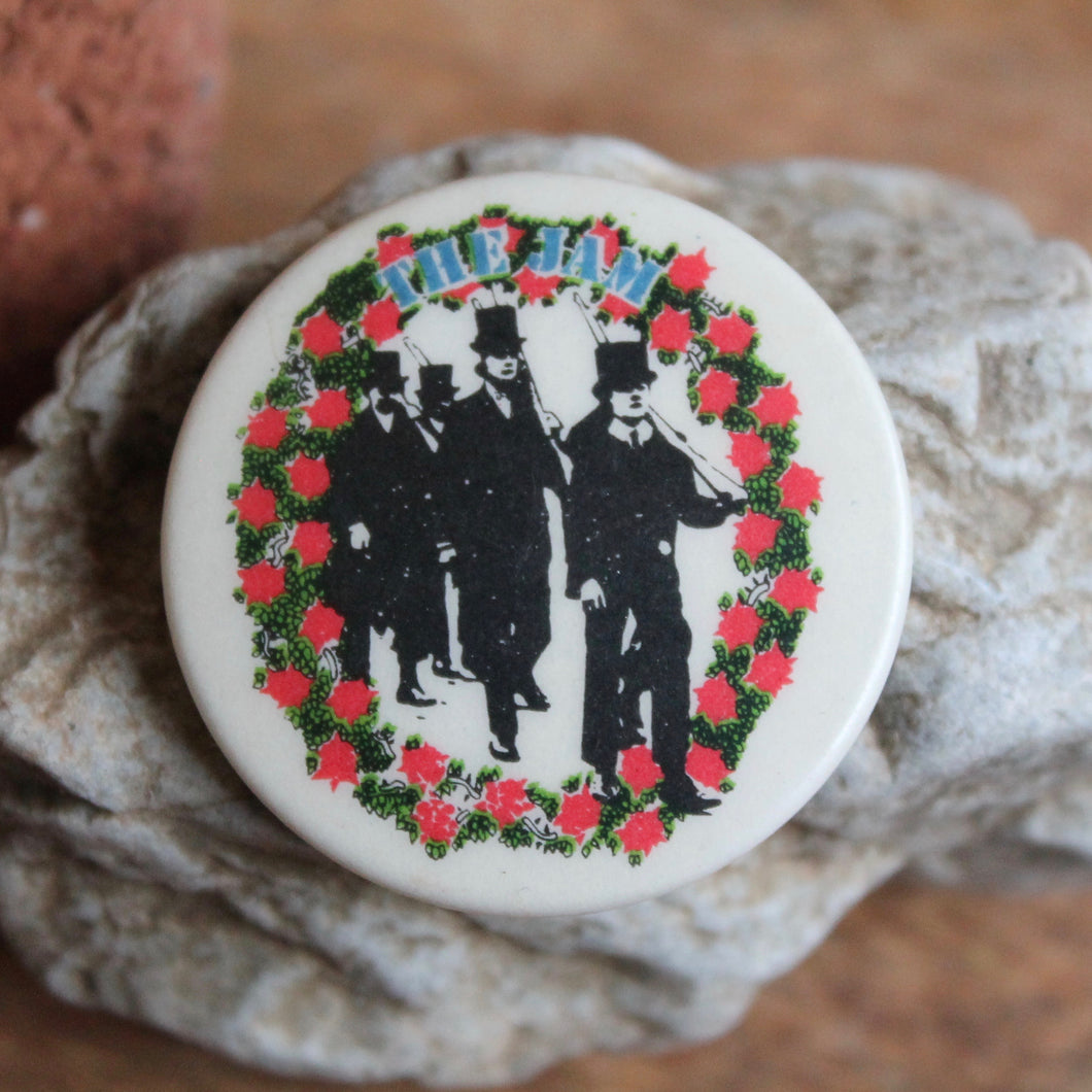 Retro The Jam pinback button