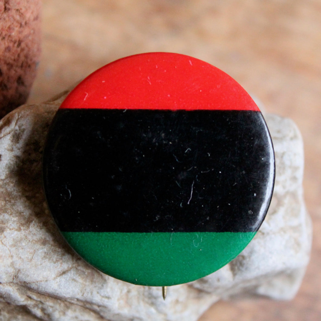 1960's Black Power vintage pin