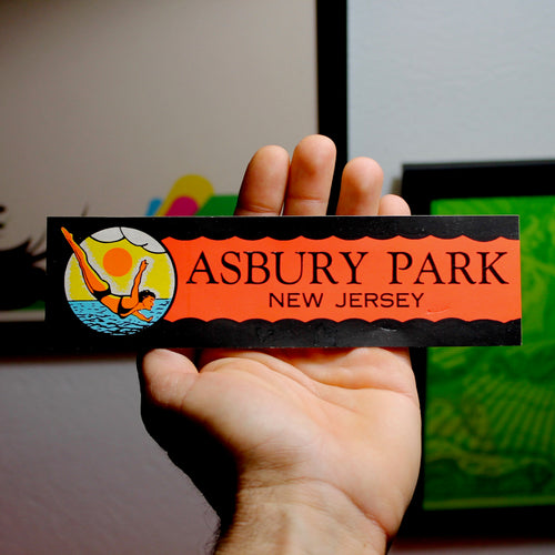 Asbury Park New Jersey sticker decal for sale NJ memorabilia