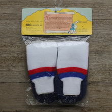 1980's Toddler Smurf Slipper Socks