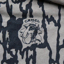 Retro Camel Cigarettes camouflage pocket shirt