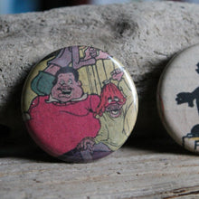 Fat Albert and Dumb Donald pinback buttons