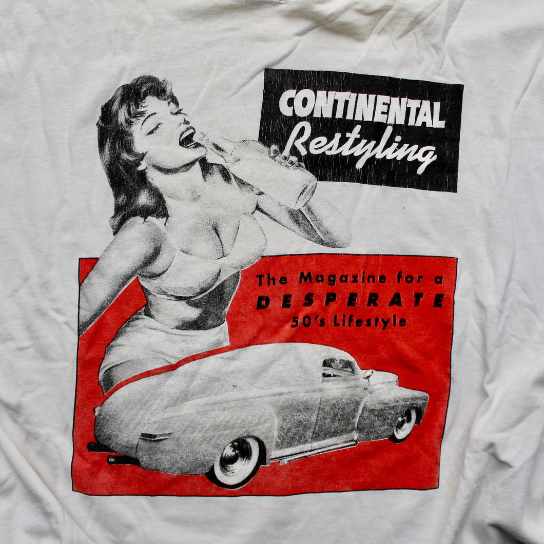 Continental Restyling Magazine shirt for sale cars and women