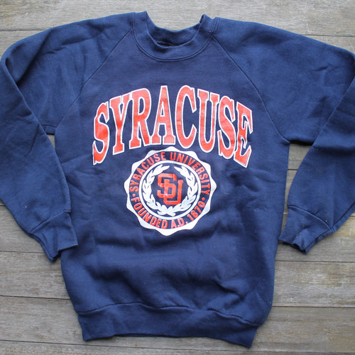Syracuse University crewneck sweatshirt