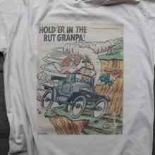 Hold 'er in the rut Granpa shirt vintage matchbook design for sale