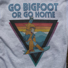 Go Bigfoot or Go Home zip-up hoodie