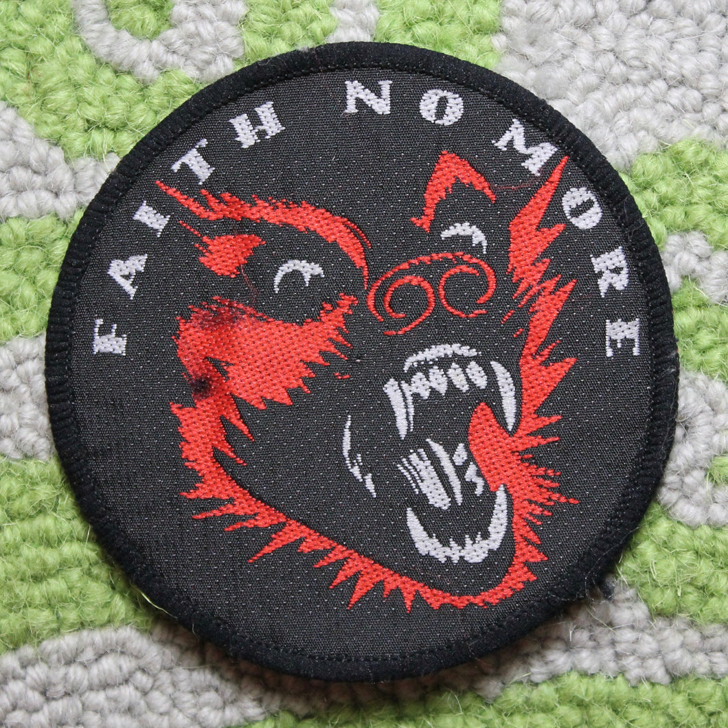 Vintage Faith No More patch King for a Day Fool for a Lifetime punk fashion
