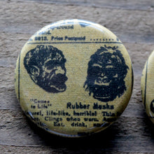 Bizarre Vintage Comic Advertisement pinback buttons