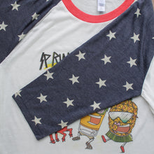 "Spring Laker ""Stars"" 3/4 sleeve baseball shirt"