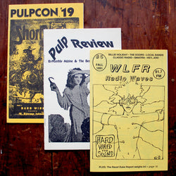 Pulpcon, Pulp Review, and WLFR Radio Waves booklets