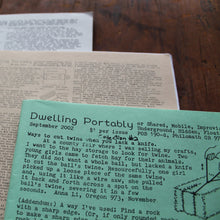 3 Dwelling Portably booklets