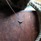 fossil shark tooth jewelry necklace collection by RadCakes handmade jewelry Manasquan NJ