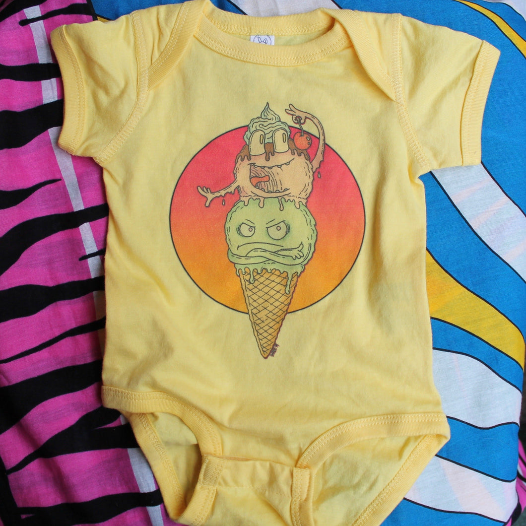 Funny Ice Cream onesie baby clothes for sale cute dessert