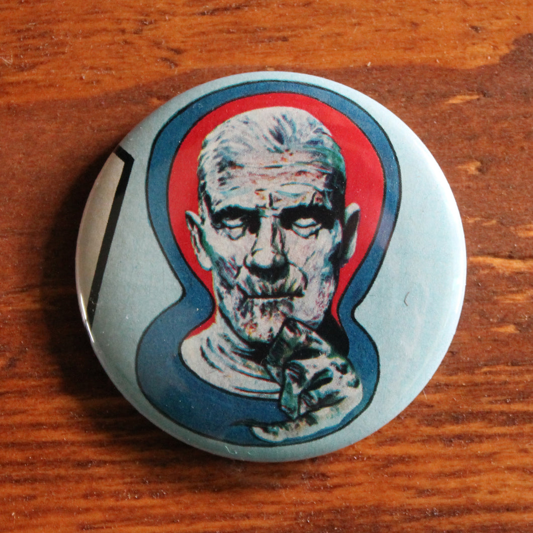 retro mummy movie monster pinback button for sale on RadCakes.com Manasquan NJ