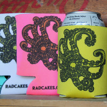 Octopus tentacle art can koozies collection by RadCakes