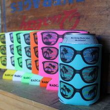 80s style beer can koozies for 80s parties