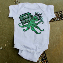 Octopus onesie for sale baby gift clothes cute squid with boombox outfit