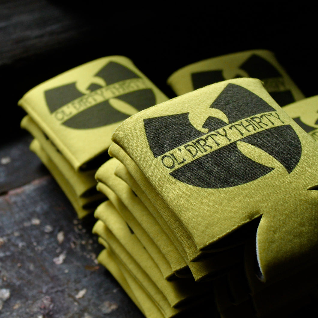 Ol' Dirty Thirty koozies (5 pack) - RadCakes Shirt Printing