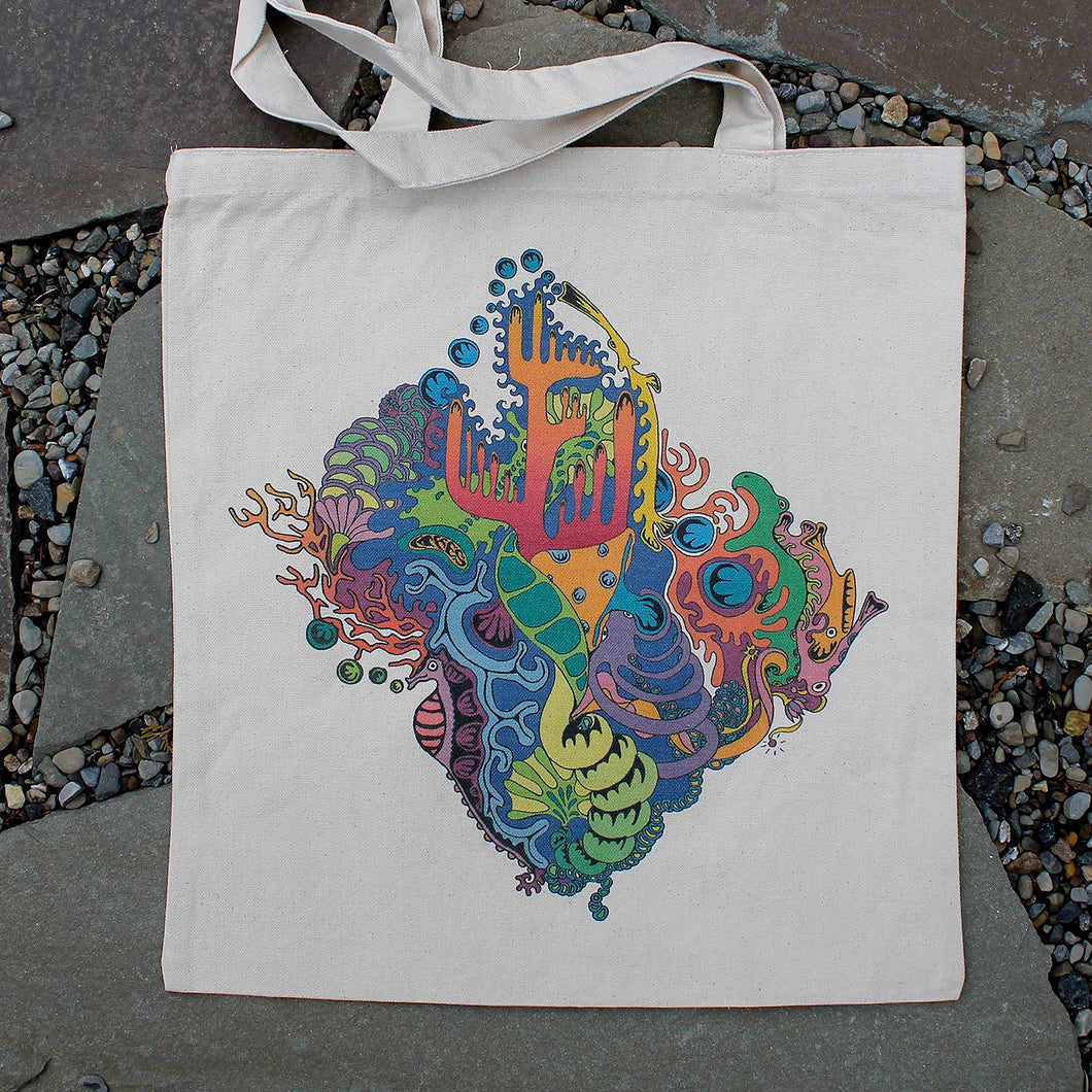 Hidden Playground tote bag