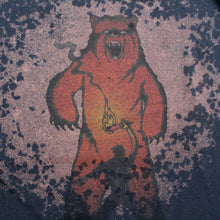 Bear attack shirt bleached shirt