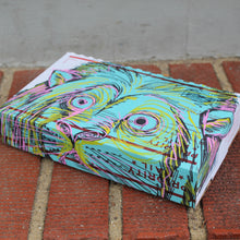 lion graffiti artwork by radcakes shirt subscription box service