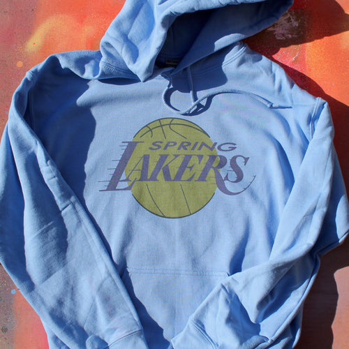 Spring Lakers sweatshirt Parker House Gods Basement Sea Girt NJ bar New Jersey Shore drink