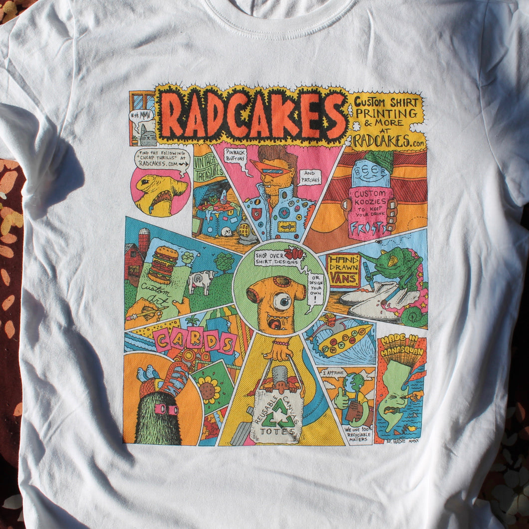 Robert Crumb Cheap thrills comic art by Radcakes for sale shirts