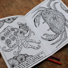 Coloring book with art by Lauren D. Wade,  Manasquan NJ artist