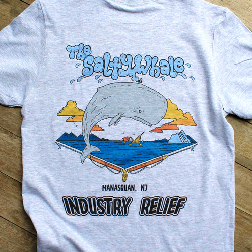 Industry Relief: THE SALTY WHALE, Manasquan