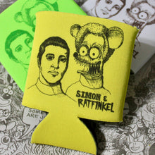 Simon and ratfinkel design by radcakes koozies radcakes.com