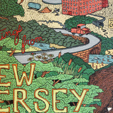 """Greetings From New Jersey"" limited edition art prints"
