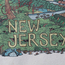 Greetings from New Jersey reusable canvas tote bag