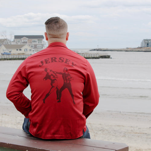Red Flannel Pork Roll shirt for sale NEW JERSEY Manasquan Inlet