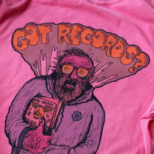 GOT RECORDS t-shirt design for record collectors and vinyl record flea market people