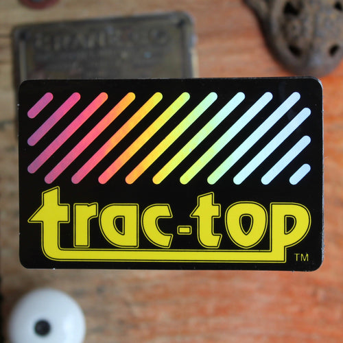 Vintage surf sticker Trac-Top for sale