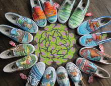 Collection of Vans sneakers all custom