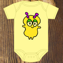 Cute little monster baby onesie design by RadCakes in Manasquan NJ