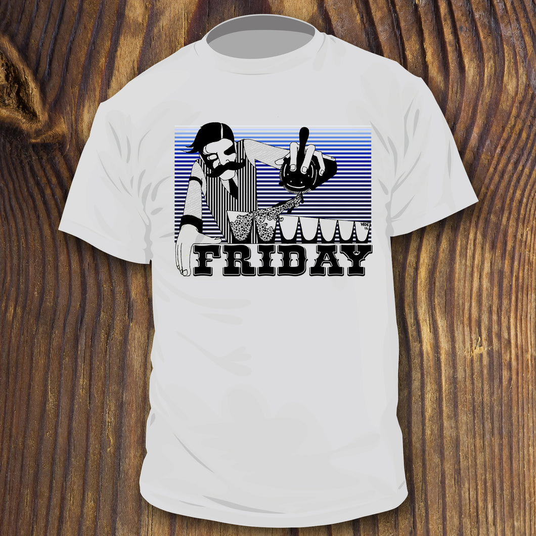 IT'S FRIDAY! shirt - RadCakes Shirt Printing