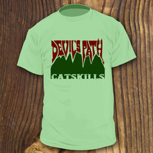 Devil's Path shirt design by RadCakes Shirts Catskills New York Hiking Trail art