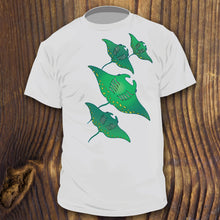 Manta Ray shirt design by RadCakes Shirts Hawaiian SCUBA dive tshirt